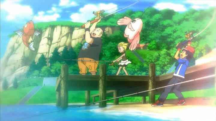 Pokemon Fishing