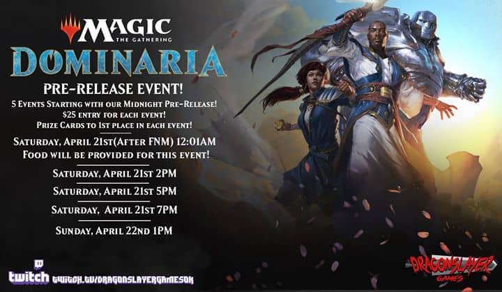 MTG Dominaria Pre-Release Weekend