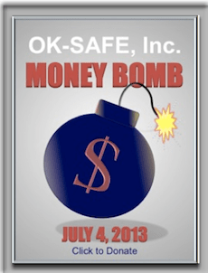 R3publican Newsletter Alert for OK-SAFE July 4th Moneybomb -- An Opportunity to say Thanks!