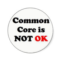 common_core_is_not_ok_round_sticker