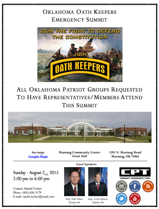 Oath Keepers Emergency Summit 2015