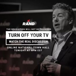 Turn off your TV - National Townhall with Rand Paul
