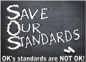 Ways In Which Oklahoma's New Standards (OAS) Do Not Conform To CC Repeal Law