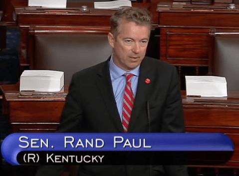Senator Rand Paul Mic Drop on HR2576