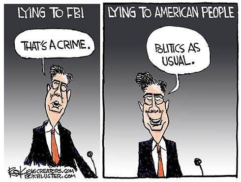 Lying to FBI and American People