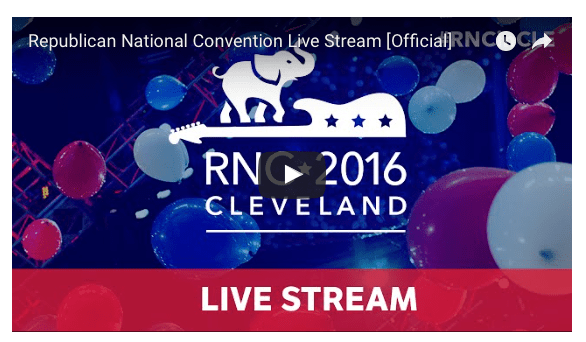 Republican National Convention Final Night Livestream