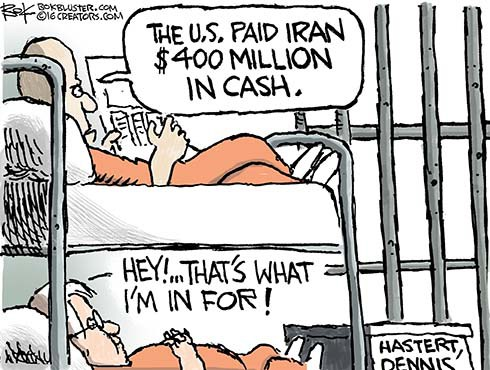 Obama Launders Iran Ransom Money
