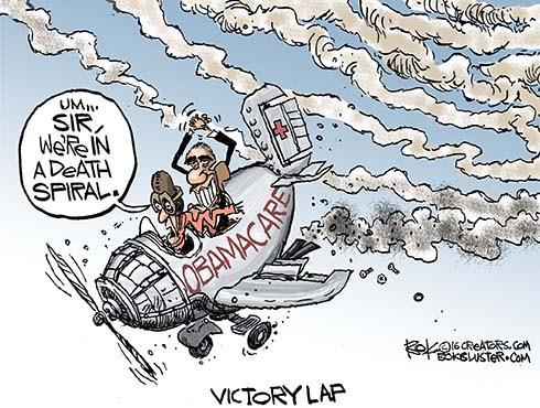 ObamaCare Death Spiral