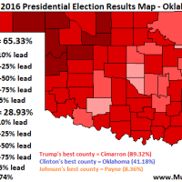 Election Results Map: Presidential Race