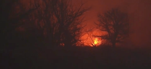 Wildfires blazing in Oklahoma and Texas Panhandle - Friends Calling for Prayer