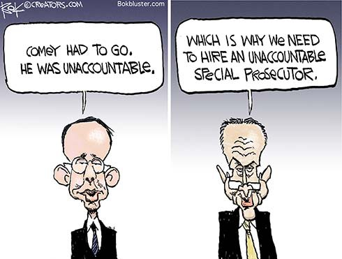 Unaccountable Washington Politics