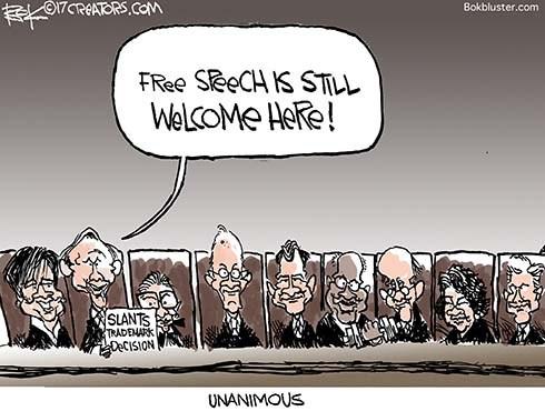 Supreme Court Slants Toward Free Speech