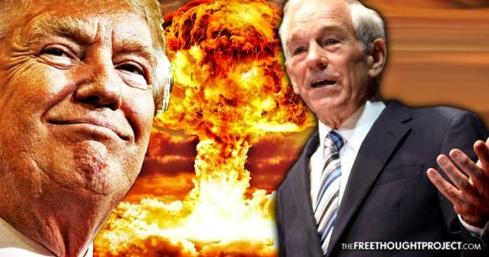 Ron Paul: Trump is Just Like CNN, Putting Out His Own False News to Start War in Syria