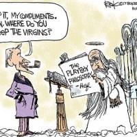 Cartoon Magazine Publisher Hugh Hefner Dies
