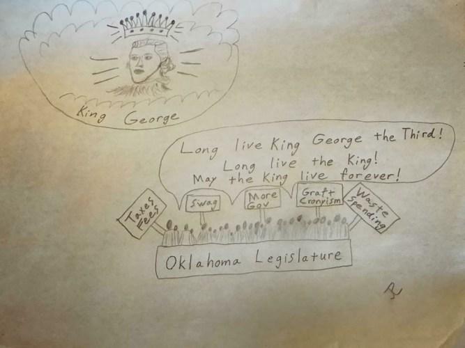 Tapp into Common Sense: OK Legislature Pays Obeisance To King George