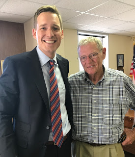 "MuskogeePolitico: Inhofe ""pleased"" with Pinnell's candidacy"