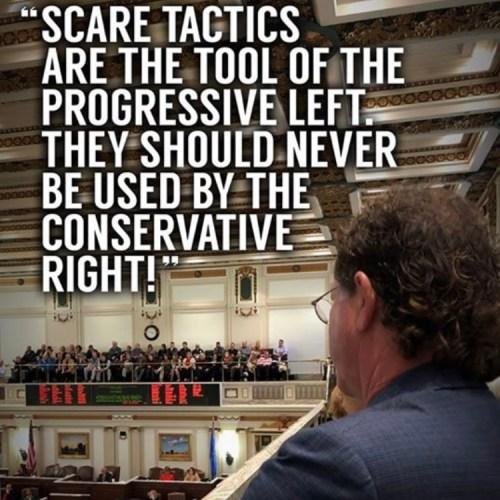 Tapp into Common Sense/Fisher: Scare Tactics Are The Tool of The Progressive Left