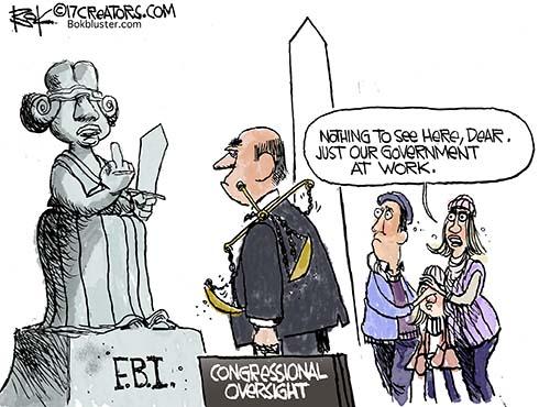 fbi flipped bird at congress
