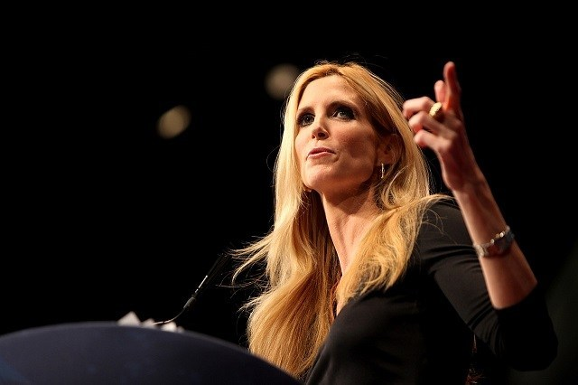 "R3publicans:  Coulter To Trump, Pence: ""I'm Sure You Have GREAT Plans For The Middle East, But We Were Hoping You'd Save America First"""