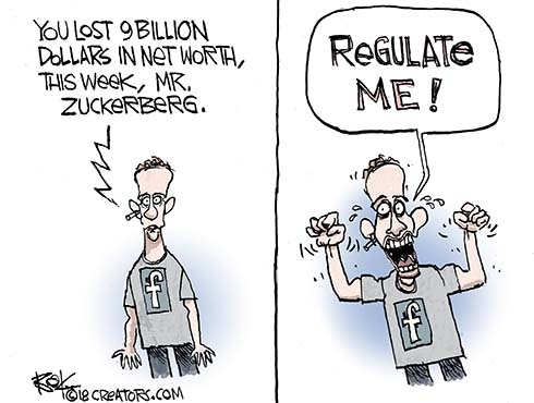 Facebook Regulation