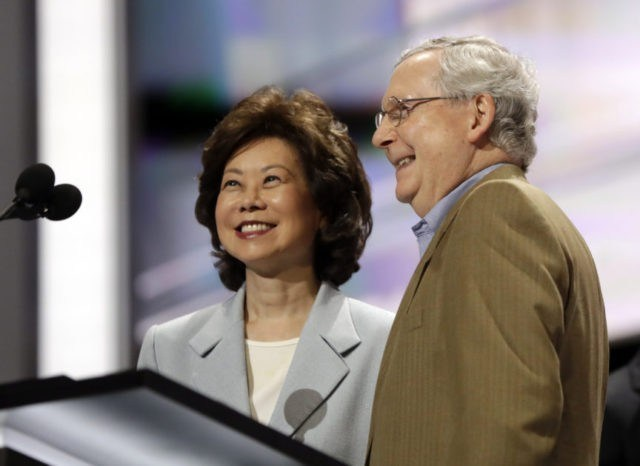 R3publicans/Secret Empires: How Mitch McConnell and Elaine Chao Used Political Power to Make Their Family Rich
