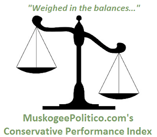 MuskogeePolitico:  Conservative Performance Index: OK Senate