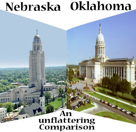 Sooner Politics:  Oklahoma's Large Legislature Is Implicated With the Size of Her Corruption
