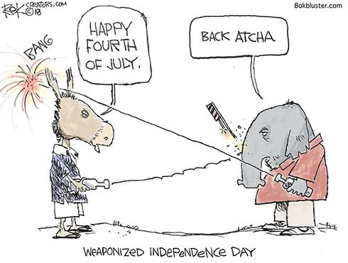 Weaponized Fourth of July