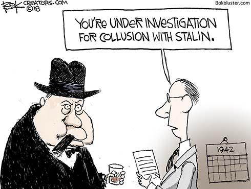 churchill collusion