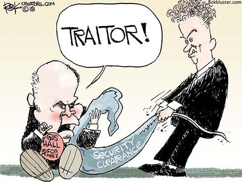 Venal Traitor Trump