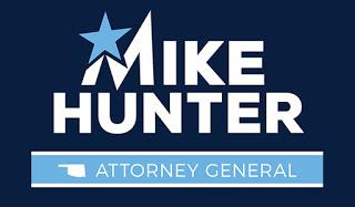 MuskogeePolitico:  Hunter endorsed by 15 District Attorneys