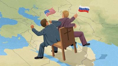 R3publicans:  Mideast Christians See Russia – Not the US – as Defender of Their Faith