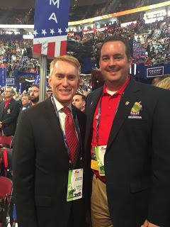 MuskogeePolitico:  Lankford endorses Rep. Sean Roberts