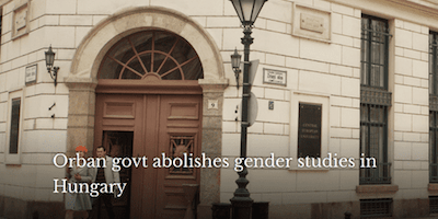 "R3publicans:  The Tide Is Turning Against ""Gender Studies""—Just Not Fast Enough"