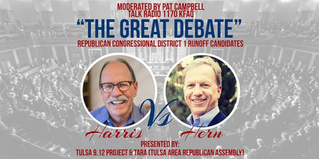 Harris and Hern to debate Friday night