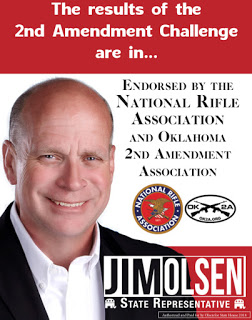 MuskogeePolitico:  NRA, OK2A endorse Jim Olsen in OK House District 2