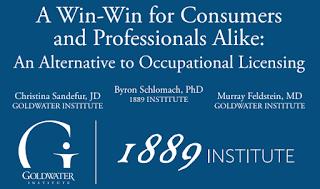 1889 Institute, Goldwater Institute publish alternative to occupational licensing