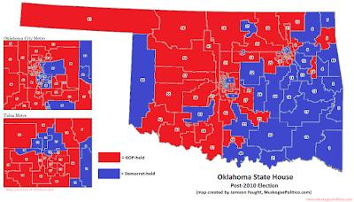 MuskogeePolitico:  An 8-Year Extinction of the Little Dixie Democrat Legislator
