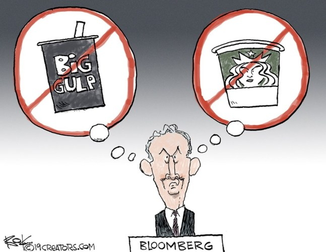 Multi Billionaire Sugar Scourge Michael Bloomberg