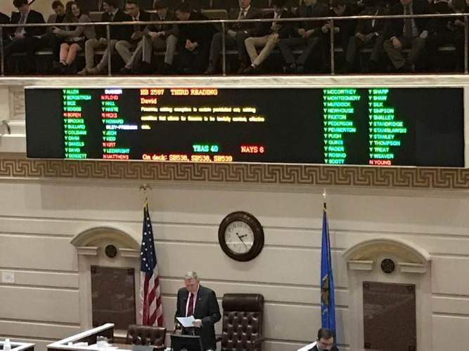 Constitutional Carry Passes Senate - on to Governor's Desk