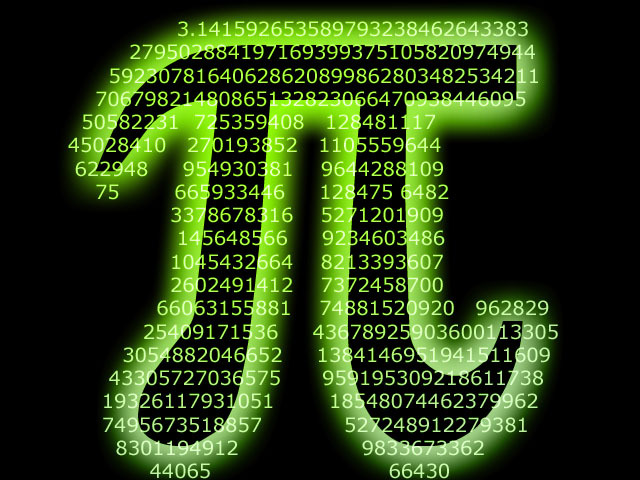 FGST:  Happy Pi Day