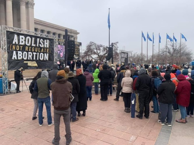 Last Week Around 1000 Oklahomans Rallied at Oklahoma Capitol to Call Legislators to Abolish Abortion