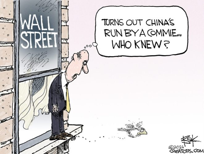 Wall Street out on a Ledge over China