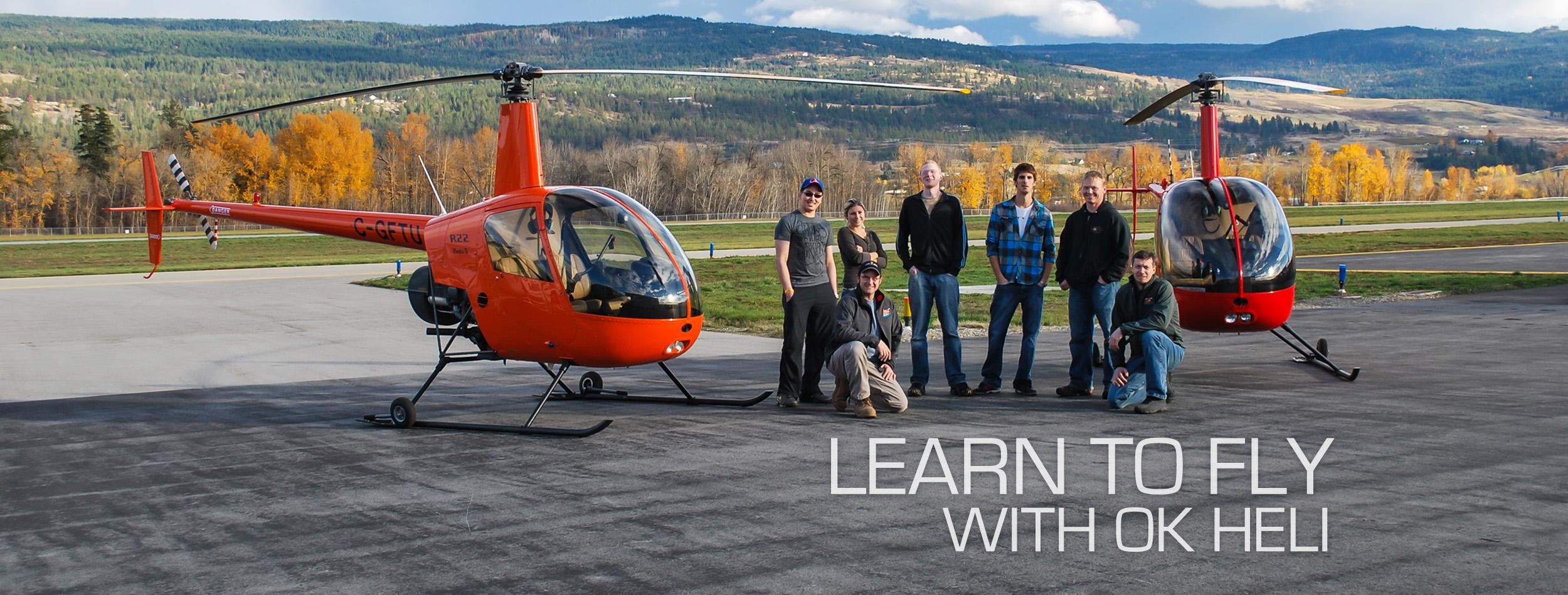 Flight Training - Okanagan Mountain Helicopters
