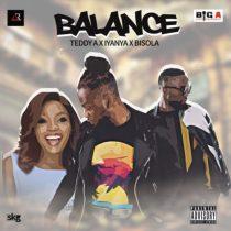 Teddy A ft. Iyanya & Bisola – Balance Artwork