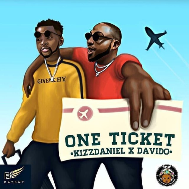 Kizz Daniel ft. Davido – One Ticket (Prod. by Major Bangz)