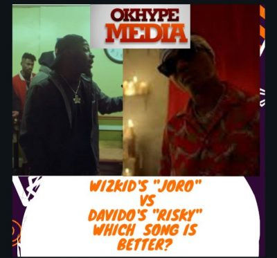 "Wizkid's ""Joro"" VS Davido's ""Risky"" Which Song is better?"