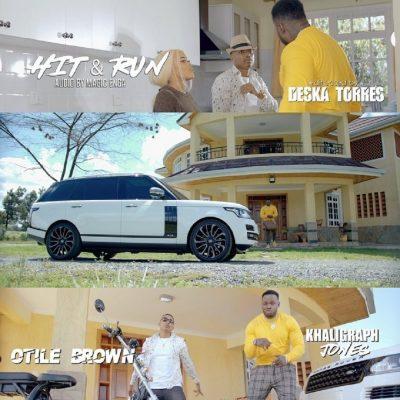 [Video] Otile Brown ft. Khaligraph Jones – Hit and Run