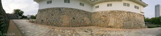 富山城の鏡石の内、5 つ