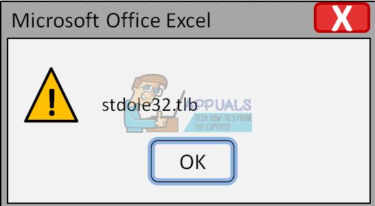 Fix: Microsoft Excel 2007 Fehler stdole32.tlb